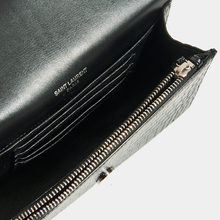 Load image into Gallery viewer, SAINT LAURENT Kate Belt Bag in Croc Embossed Leather