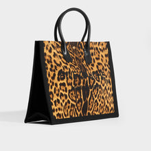 Load image into Gallery viewer, SAINT LAURENT Rive Gauche Tote Bag in Leopard Print