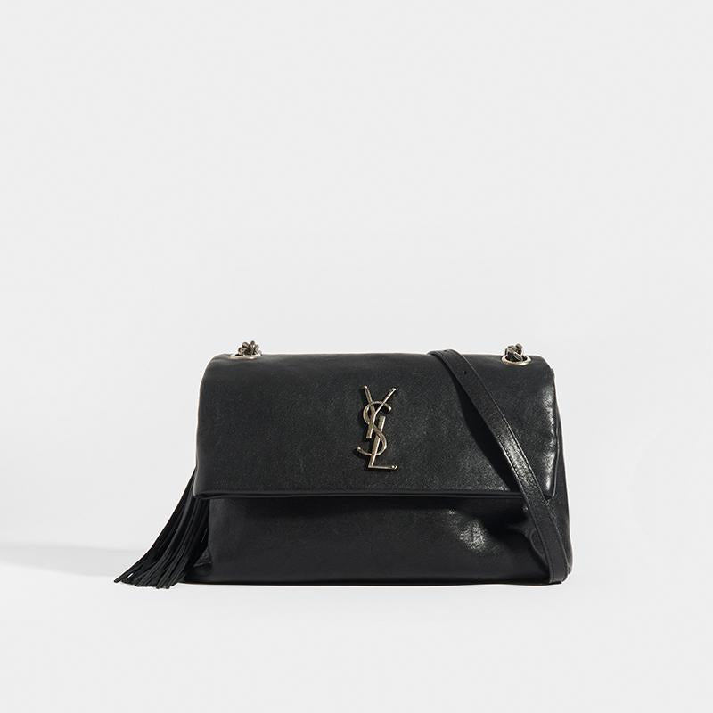 SAINT LAURENT West Hollywood Medium Shoulder Bag - Front View