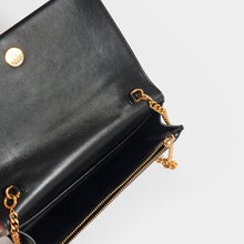 Load image into Gallery viewer, SAINT LAURENT Kate Tassel Chain Wallet in Black