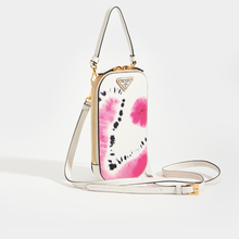 Load image into Gallery viewer, PRADA SSENSE Exclusive White Tie-Dye Mini Bag