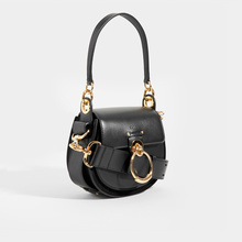 Load image into Gallery viewer, CHLOÉ Tess Small Crossbody Bag in Black Leather and Suede