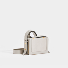 Load image into Gallery viewer, LUTZ MORRIS Maya Medium Crossbody Bag in Stone Lizard Embossed Leather