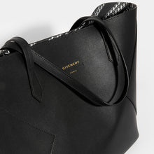 Load image into Gallery viewer, GIVENCHY Wing Shopper Bag in Black Leather