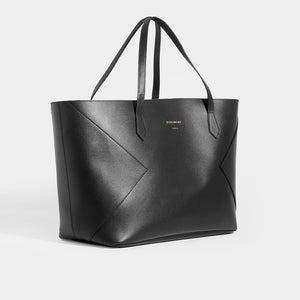 GIVENCHY Wing Shopper Bag in Black Leather