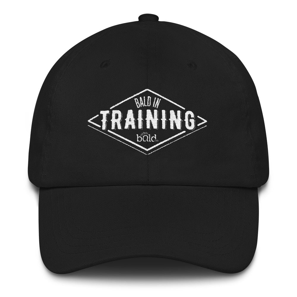 Bald in Training hat