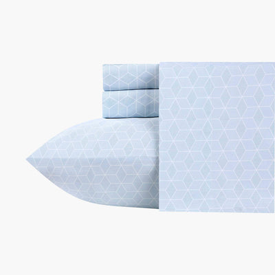 Luxe Smooth Sateen Printed Sheet Set  Image