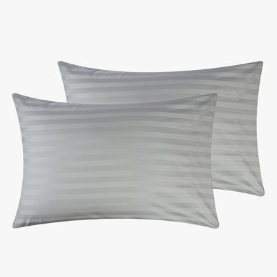Silky Soft Sateen Striped Pillowcases  Image