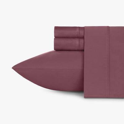 Luxe Smooth Sateen Solid Sheet Set  Image