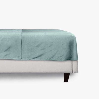 Luxe Smooth Sateen Solid Flat Sheet  Image