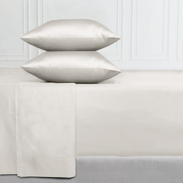 Everyday Comfort - 400 Thread Count - 100% Cotton Sateen Fitted Sheet Only