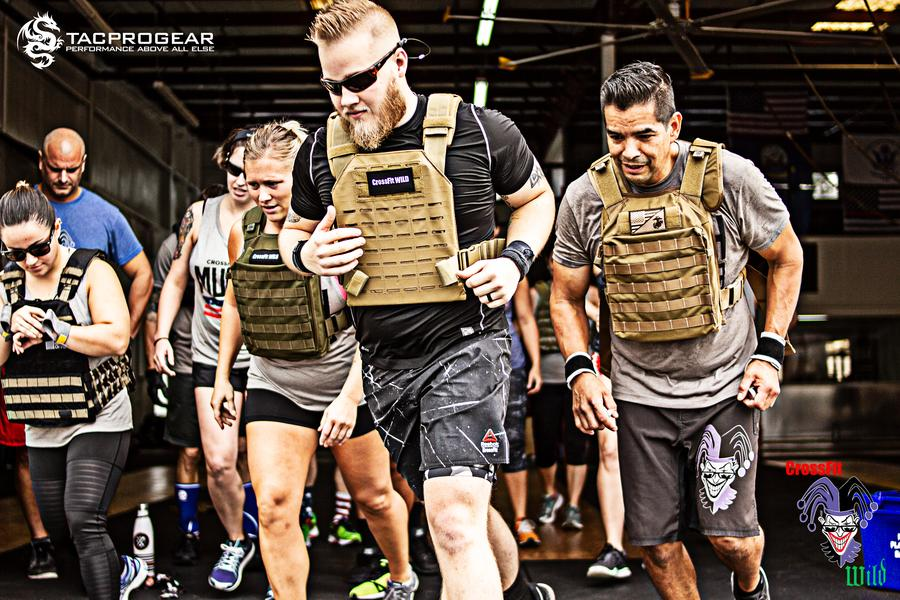 Memorial Day Murph 2018 - Crossfit Wild