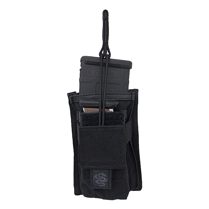 TPG Single Rifle Mag W/45 Front Pouch Universal