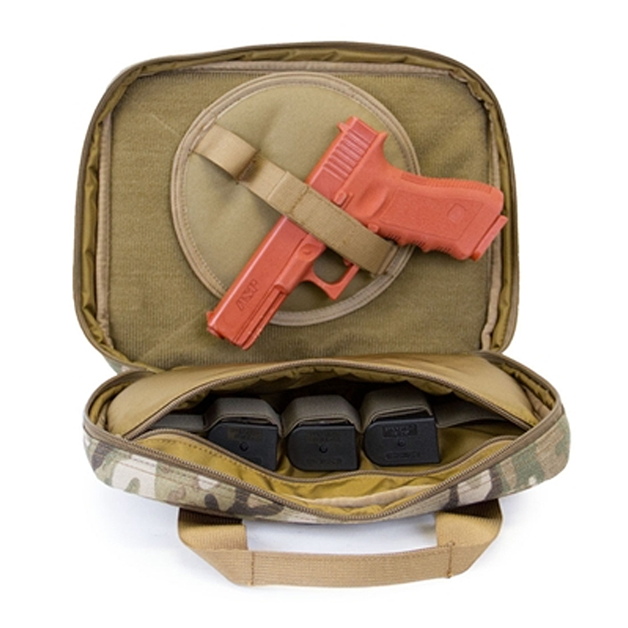 TPG Tactical Pistol Case with Pistol Wheel