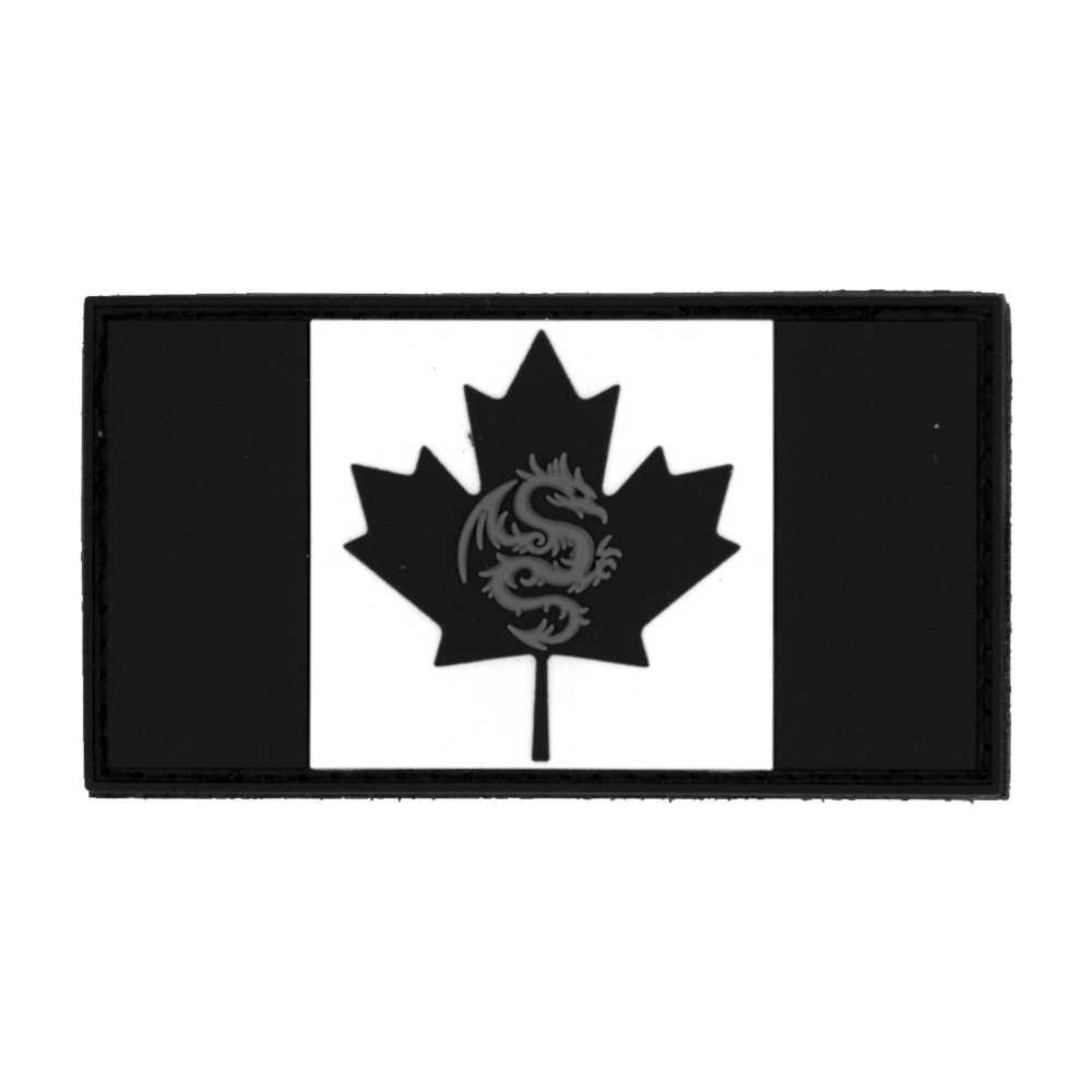 TPG Canadian Flag PVC Patch