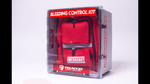 King Bleeding Control Station with tactical backpack, can hold anywhere from 1 to 18 individual bleeding control kits. (Standard is 8 but larger quantity can be custom ordered)