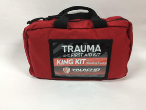 Osha/ANSI First Aid and Trauma kit that includes major bleeding control equipment