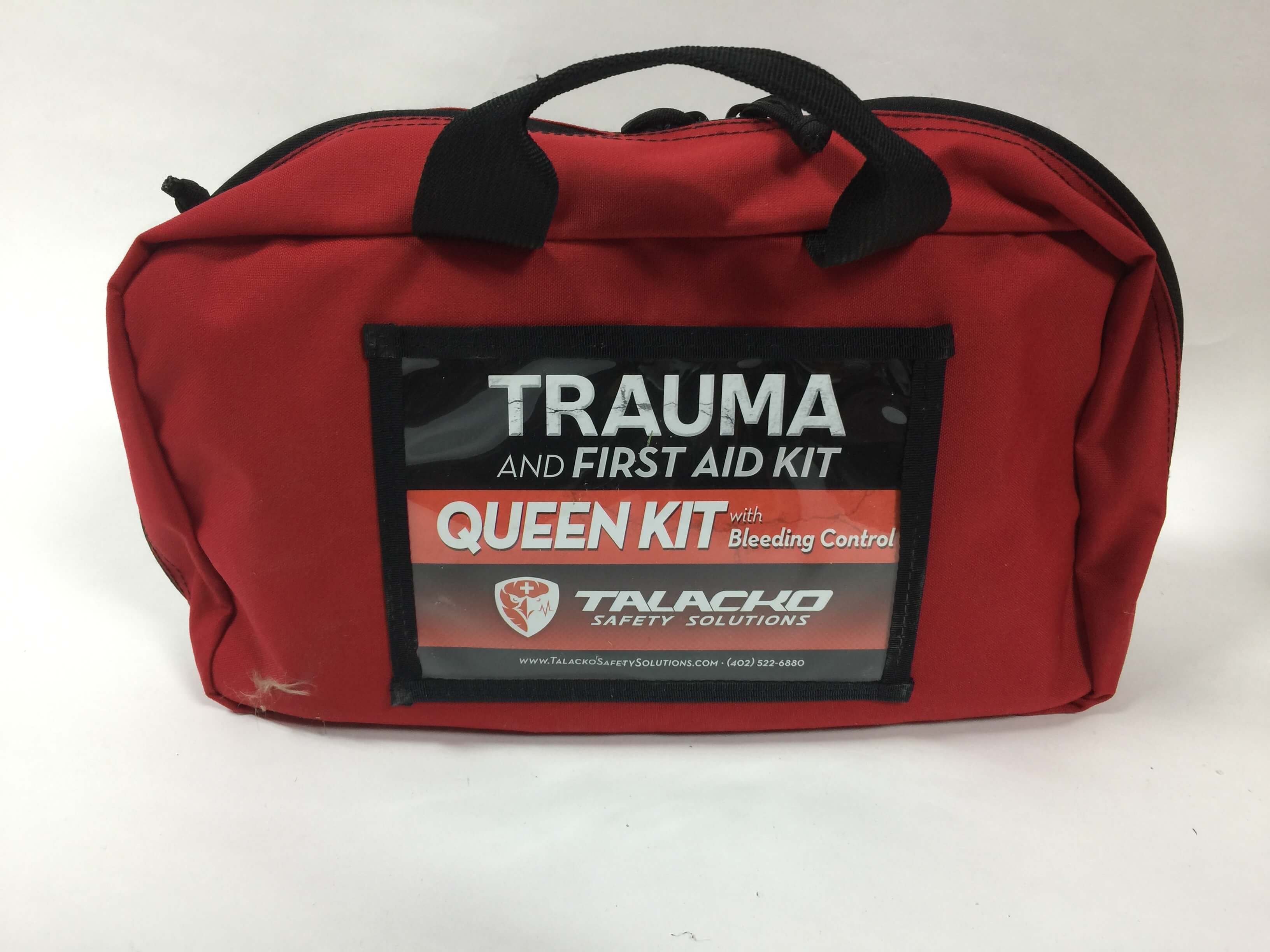 OSHA/ANSI First Aid Kit with Trauma Equipment