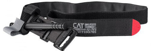 Black Combat Application Tourniquet (CAT) by North American Rescue