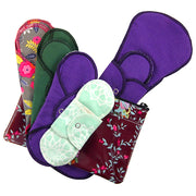 Cloth Pad Size Sampler