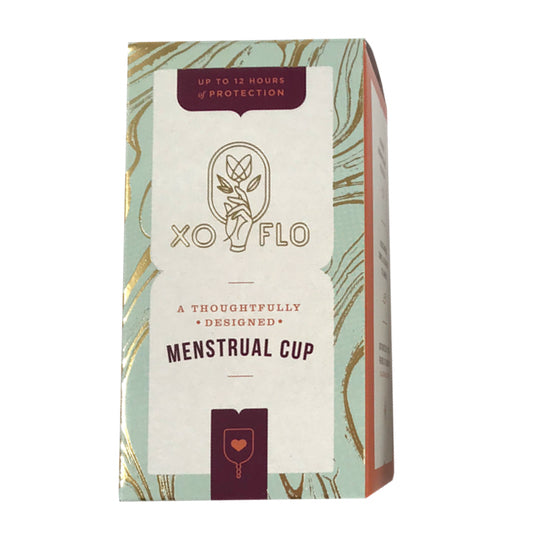 XO Flo Menstrual Cup (backordered, ships in 2-4 weeks)