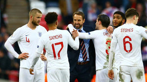 England celebrate putting 5 past Czech Republic in the 2019 UEFA Nations League
