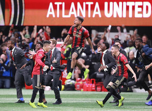 Atlanta United celebrate winning the MLS Cup