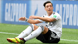 Mesut Ozil at the 2018 World Cup for Germany