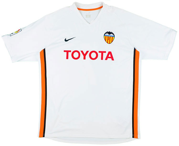 Valencia 2006/07 Retro Home Kit