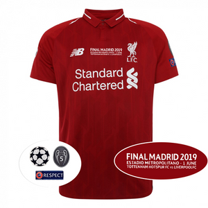 Liverpool 2018/19 Madrid Final Home Kit