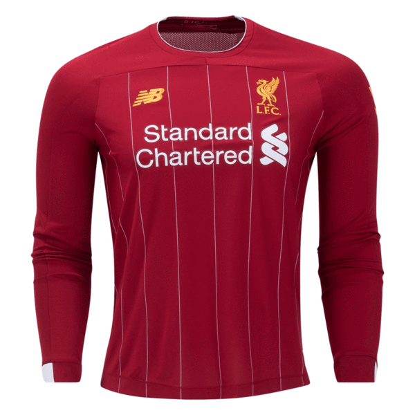Liverpool 2019/20 Home Kit Long Sleeve