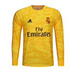 Real Madrid 2019/20 Goalkeeper Home Kit Long Sleeve