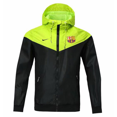 Barcelona 2018/19 Away Windbreaker - JerseyClub.net