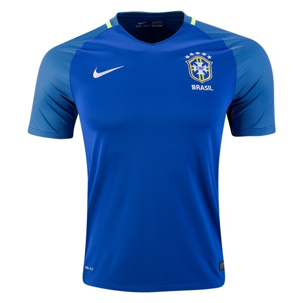 Brazil 2016 Copa America Retro Away Kit - JerseyClub.net
