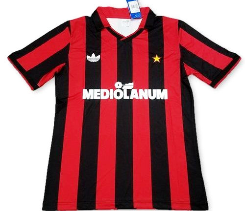 AC Milan 1991/92 Retro Home Kit - JerseyClub.net