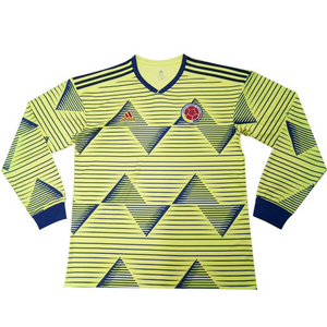 Colombia 2019 Copa America Home Kit Long Sleeve - JerseyClub.net