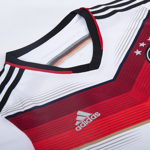 Germany 2014 Retro Home Kit - JerseyClub.net