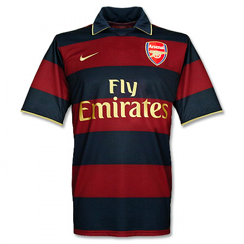 Arsenal 2007/08 Retro Third Kit - JerseyClub.net