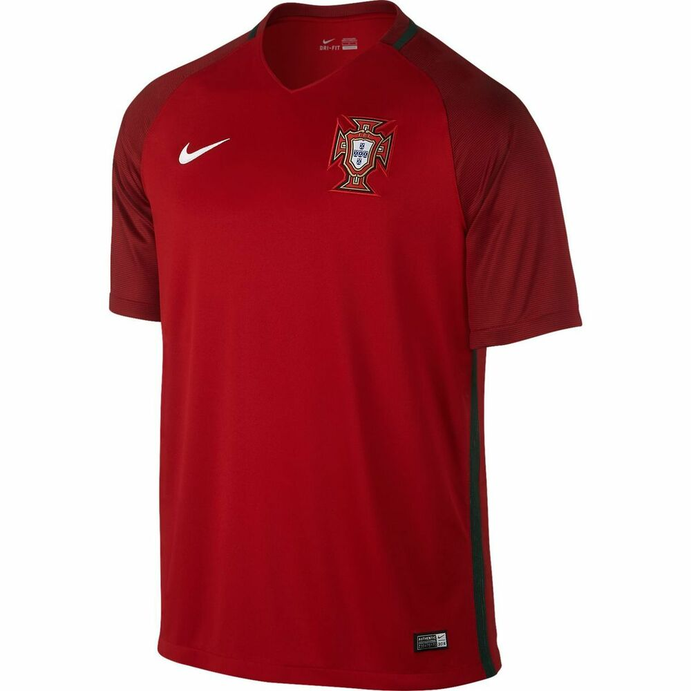 Portugal Euro 2016 Retro Home Kit