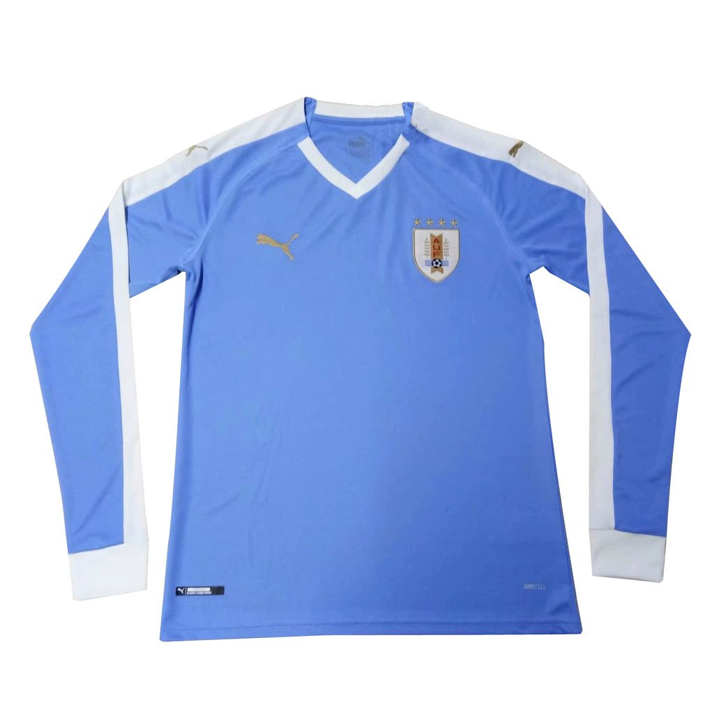 Uruguay 2019 Copa America Home Kit Long Sleeve