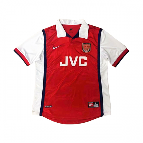 Arsenal 1998/99 Retro Home Kit - JerseyClub.net