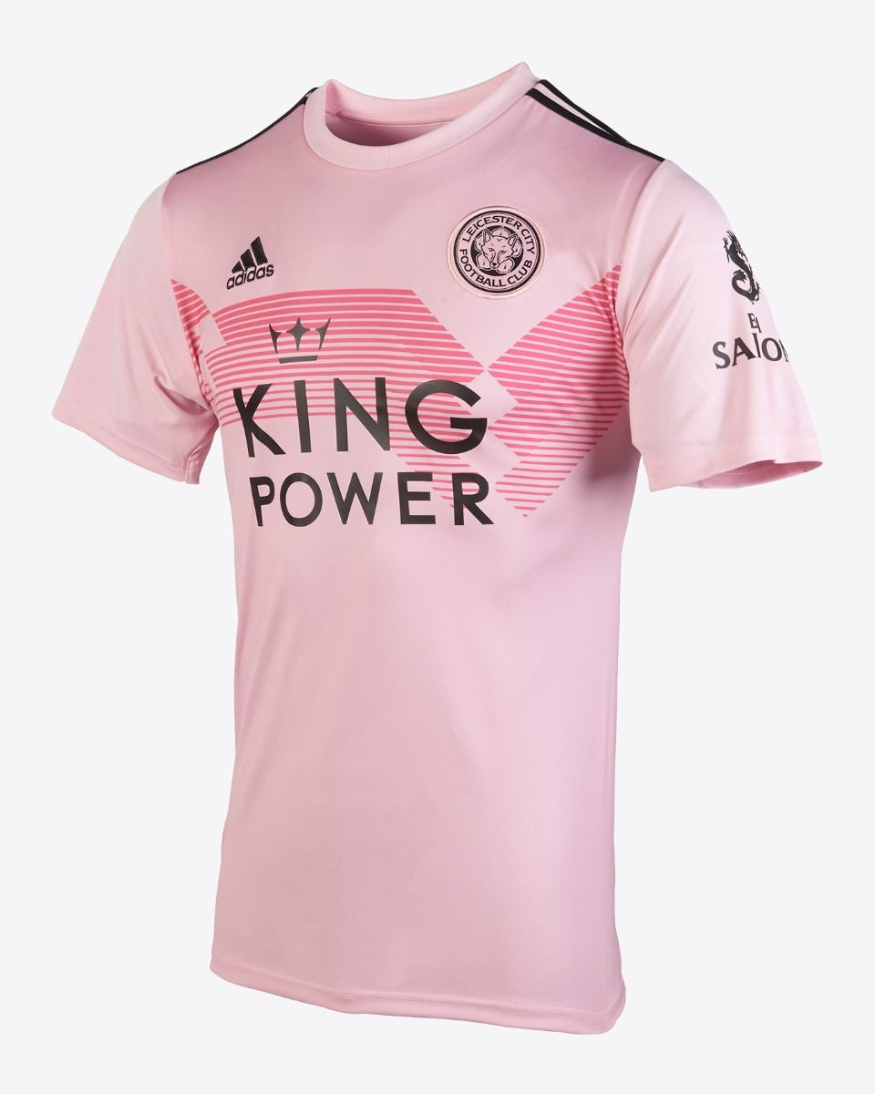Leicester City 2019/20 Pink Away Kit