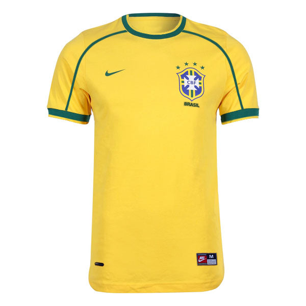 Brazil 1998 Retro Home Kit - JerseyClub.net