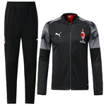 AC Milan 2018/19 Black Stadium Set - JerseyClub.net