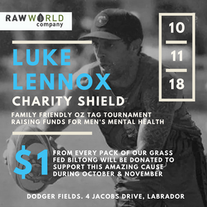 Luke Lennox Charity Shield 2018