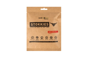 Beef Stokkies Hot Chilli