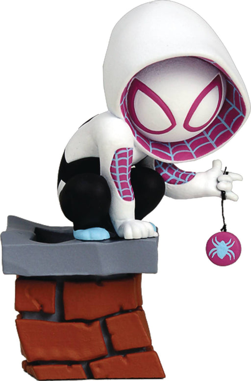 MARVEL MINI HEROES ANIMATED SPIDER-GWEN PVC STATUE