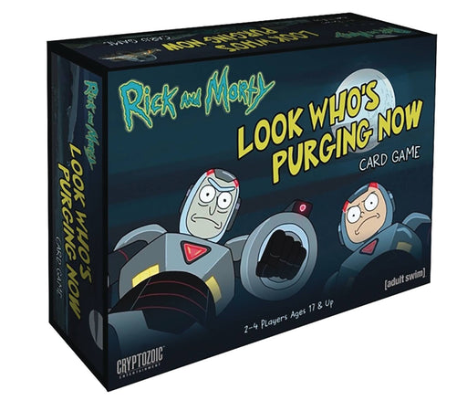 RICK & MORTY LOOK WHOS PURGING NOW CARD GAME