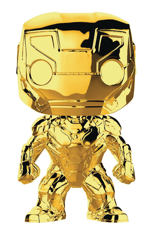 POP MARVEL STUDIOS 10 IRON MAN VINYL FIG (C: 1-1-2)