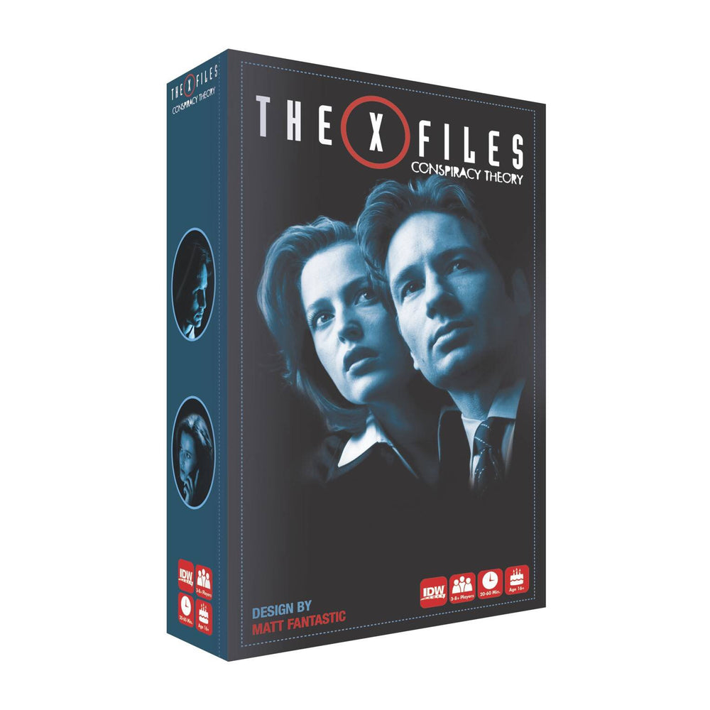 X-FILES CONSPIRACY THEORY GAME (C: 0-1-2)